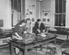 Hochstetter physics lab, University Archives, 1950, call number: 85Z:1(1)